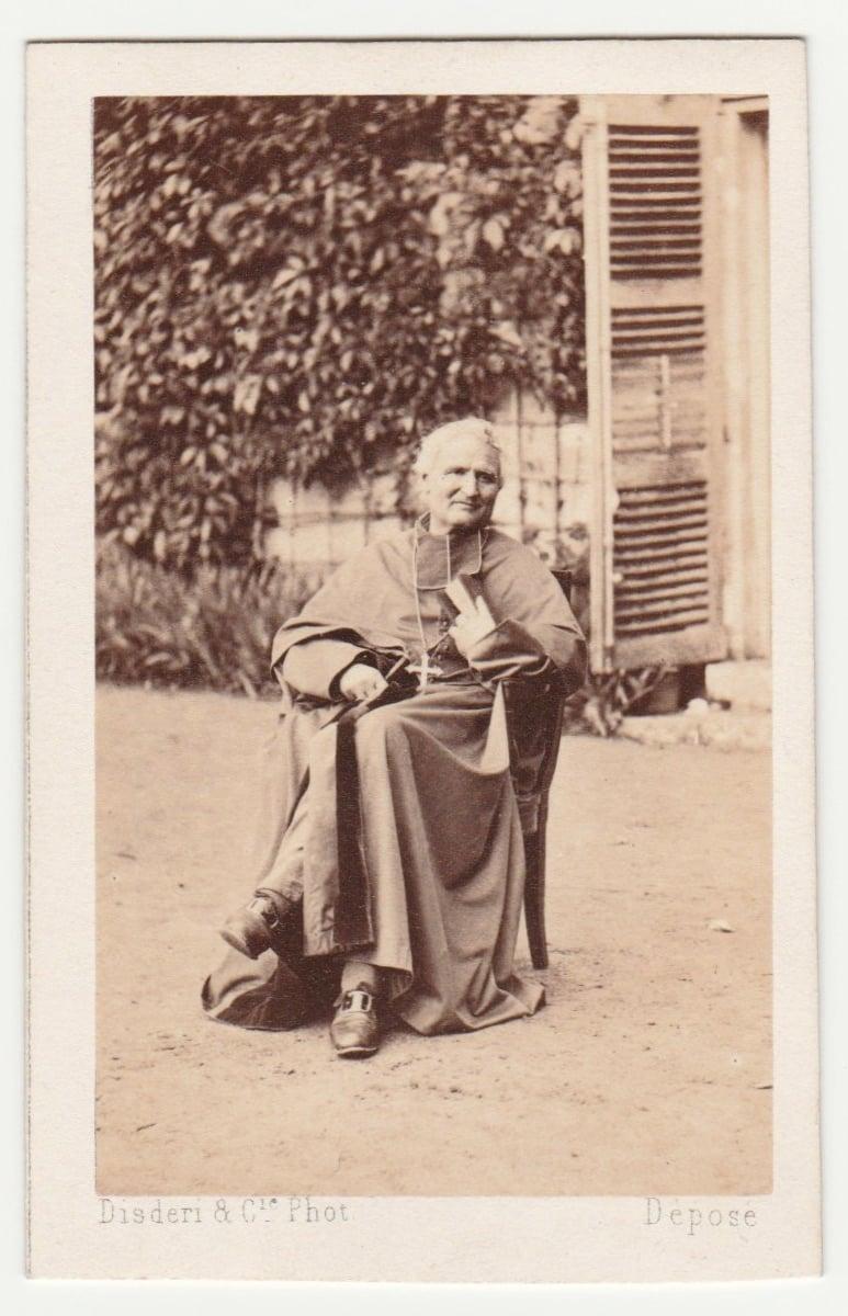Image of Disdéri: Mgr. Dupanloup, ca. 1862