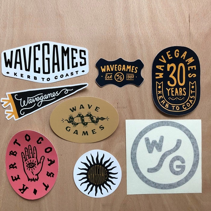 Image of Wave Games Sticker Pack