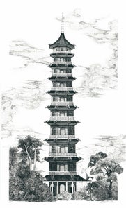 Image of The Great Pagoda - Kew Gardens
