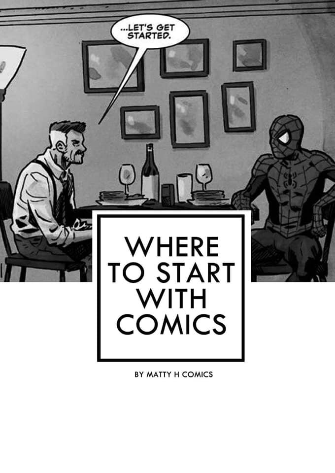 Where To Start With Comics 'Zine