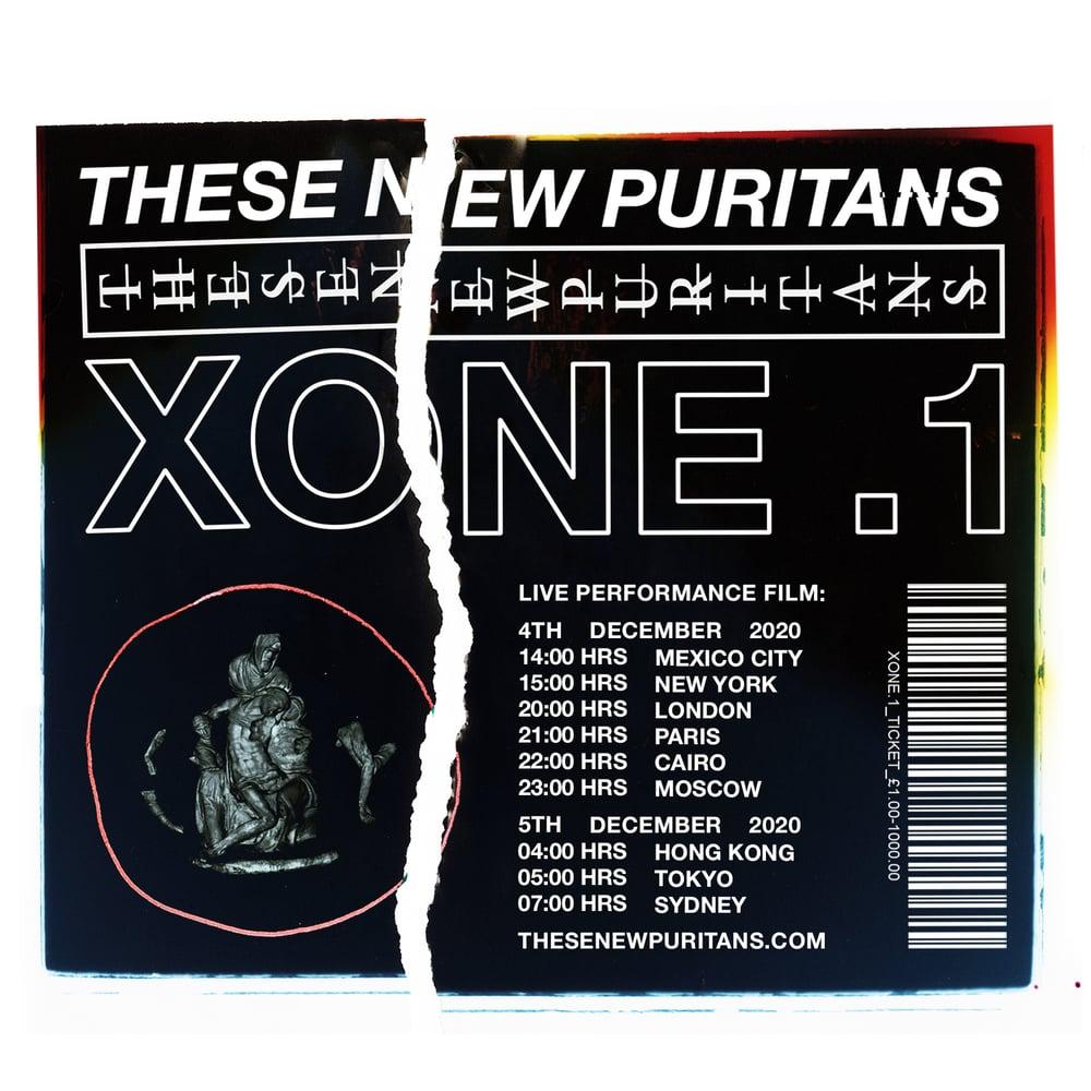 Image of XONE .1  TICKET