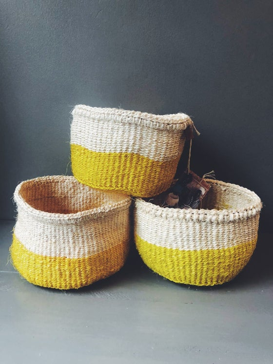 Image of YELLOW BASKET