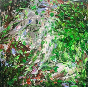 Image of Vitality of spring - 30x30cm