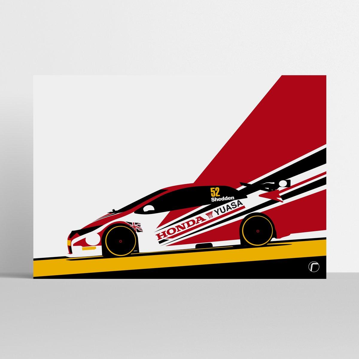 Image of Honda Yuasa | Gordon Shedden 2013