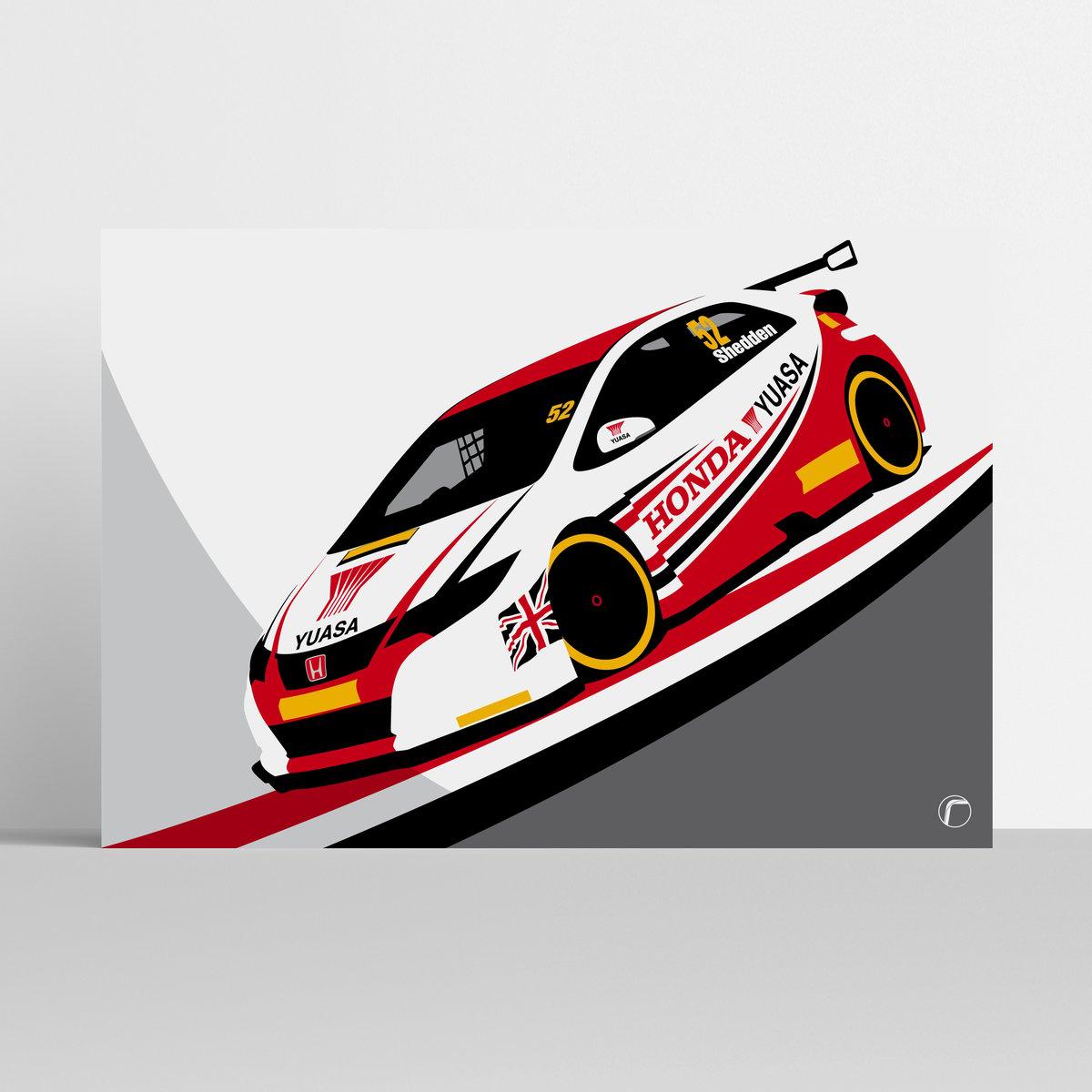 Image of Honda Yuasa | Gordon Shedden 2015