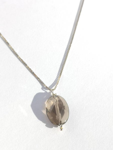 Image of Collier Brume d'argent