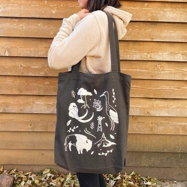 Image of On the Plains Tote Bag