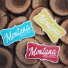 Montana Small Towner Stickers