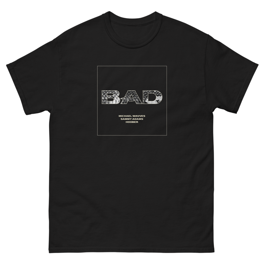 Image of *NEW* 'BAD' Snakeskin Logo Tee