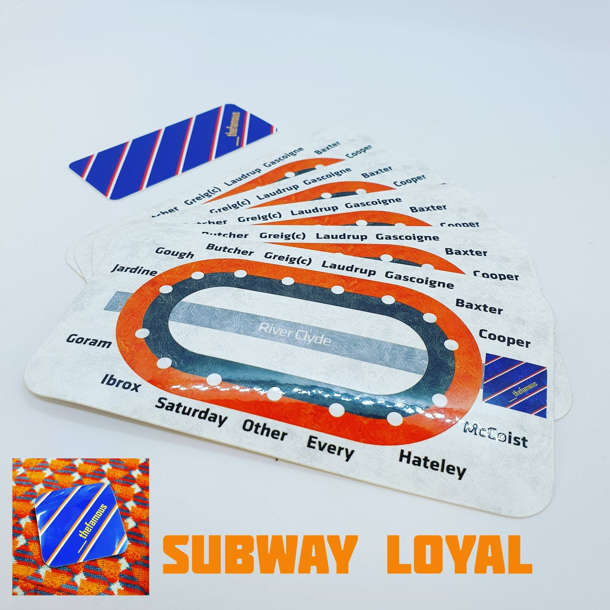 Image of Subway Loyal Sticker Pack