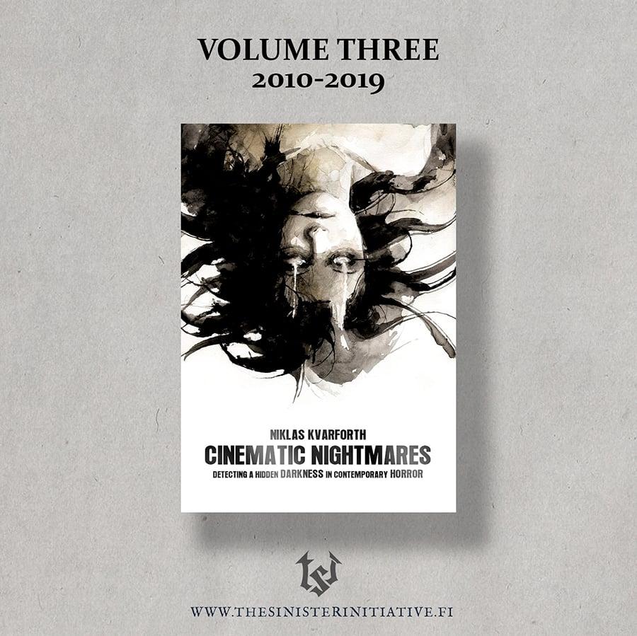 """Image of PRE-ORDER Niklas Kvarforth """"Cinematic Nightmares - Volume III"""" BOOK"""