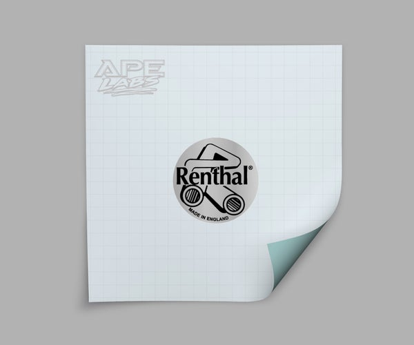 Image of Renthal decal