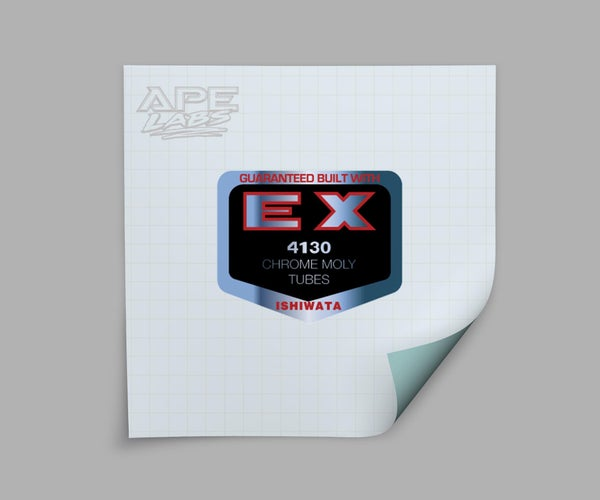 Image of Haro Ishiwata EX 4130 decal