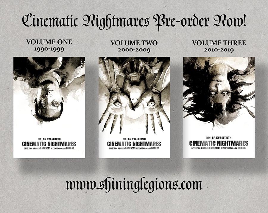 "Image of PRE-ORDER Niklas Kvarforth ""Cinematic Nightmares Volume I-III"" BUNDLE"