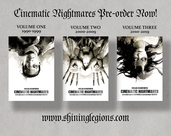 "Image of PRE-ORDER Niklas Kvarforth ""Cinematic Nightmares Volume I-III"" BUNDLE"