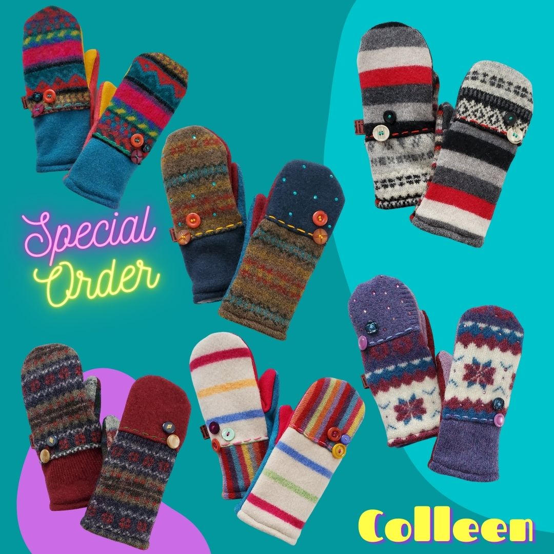 Image of Mitten Six Pack - Special Order: Colleen
