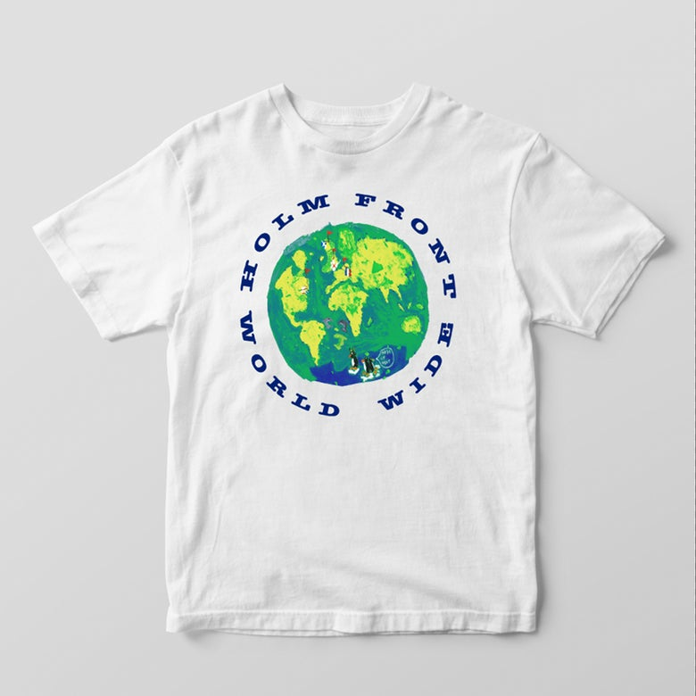 Image of Holm Front Worldwide T-shirt