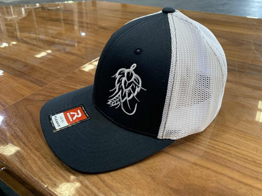 Image of Hop Fly Flex Fit Hat - Navy/White