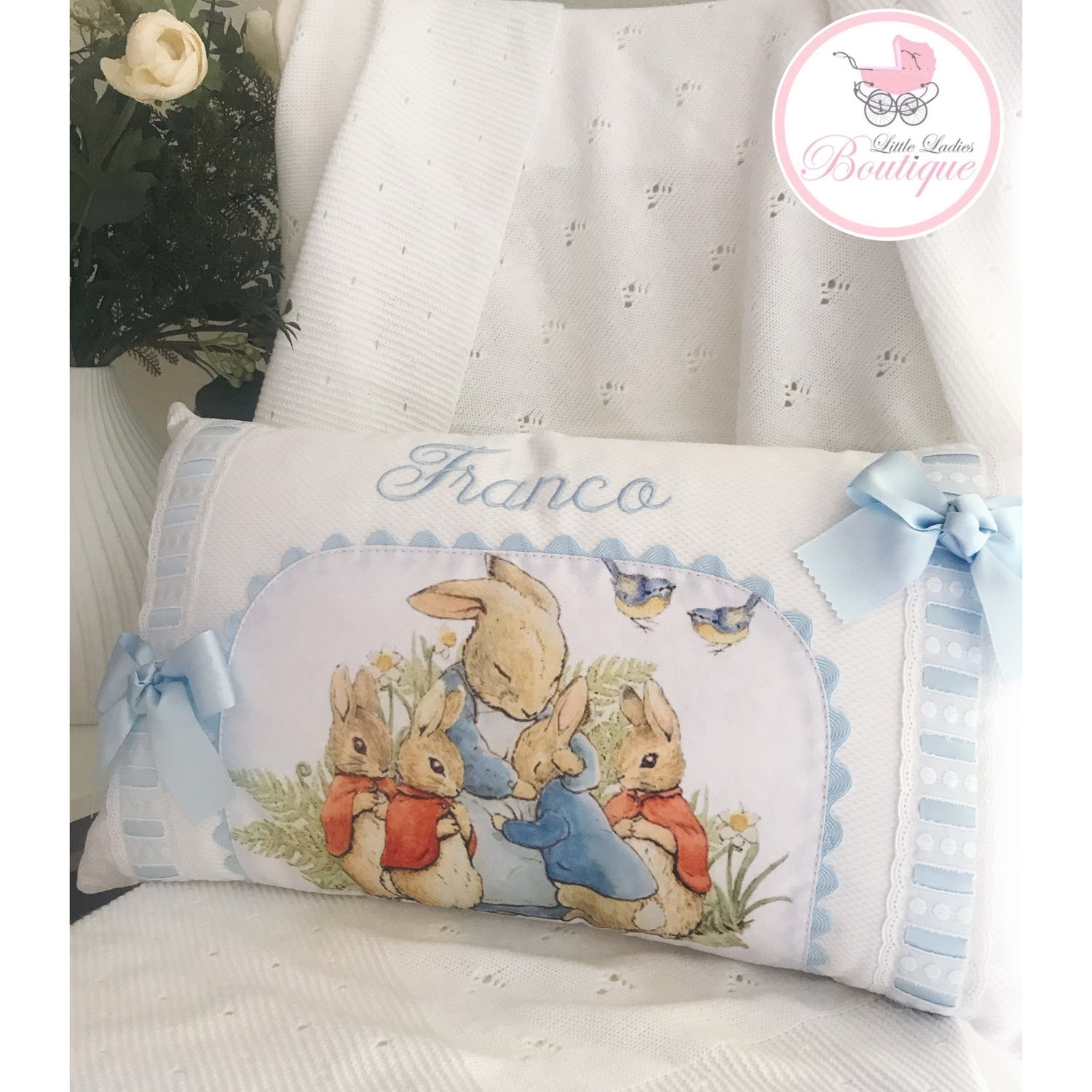 Image of Peter Rabbit Pillow
