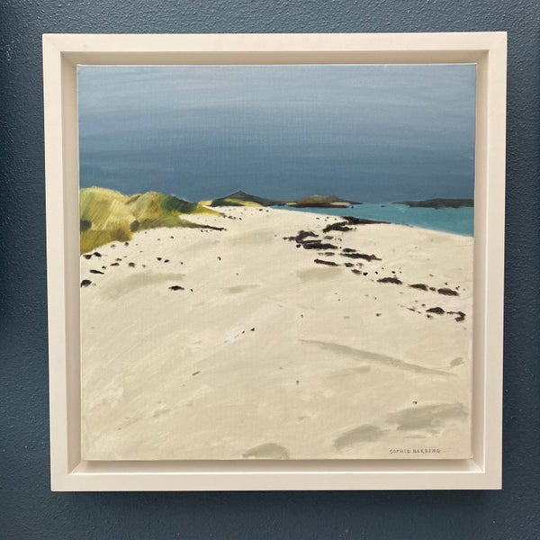 Image of White Sands, Moody Sky
