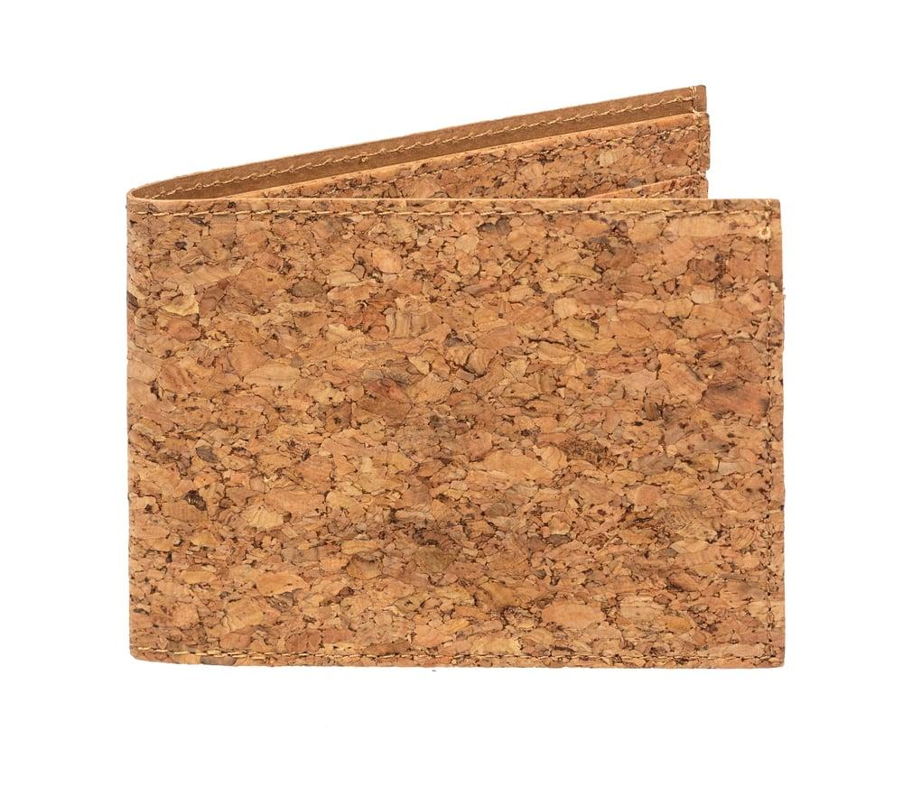 Image of Ultra Slim Unisex Cork Wallet