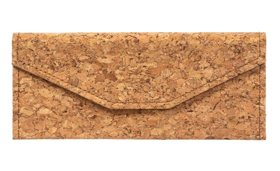 Image of Collapsible Cork Sunglasses Case