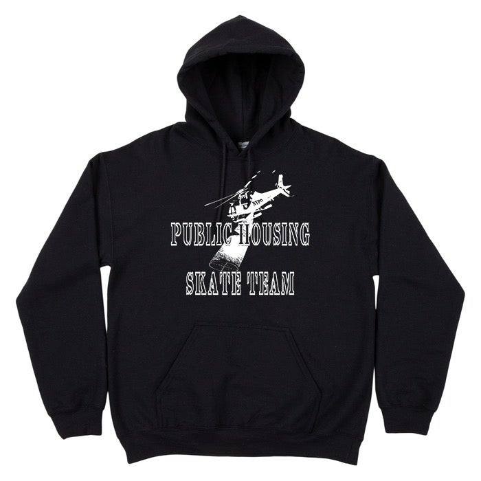 Image of PUBLIC HOUSING (NYPD HELICOPTER) HOODIE