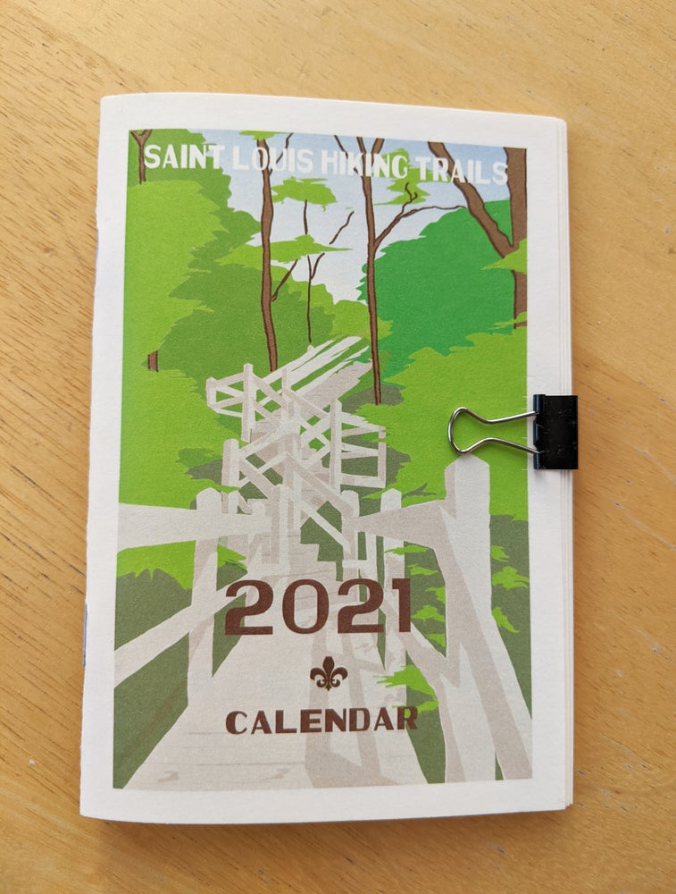 Image of St. Louis Hiking Trails 2021 Calendar