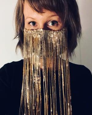 Image of Fringe Face Mask