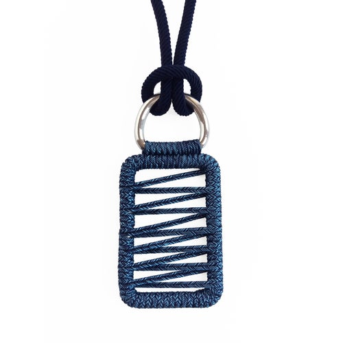 Image of pendant woven necklace #1643, Limited Edition