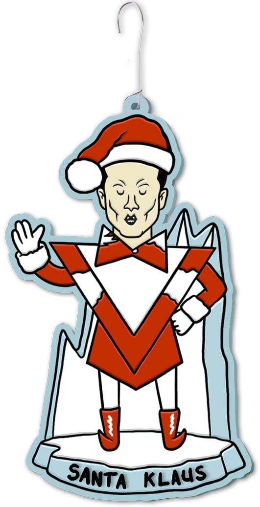Santa Klaus Ornament