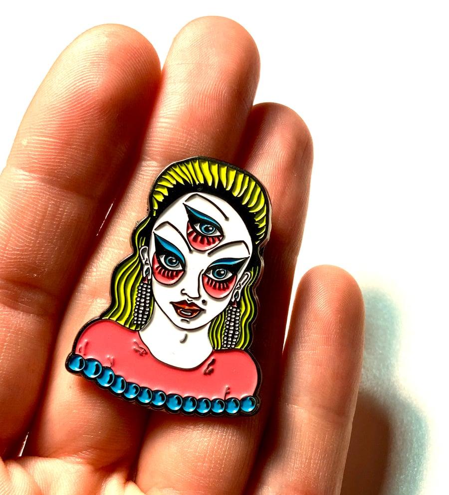 Image of Divine Enamel Pin