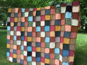 Image of Full Size Custom Rag Quilt