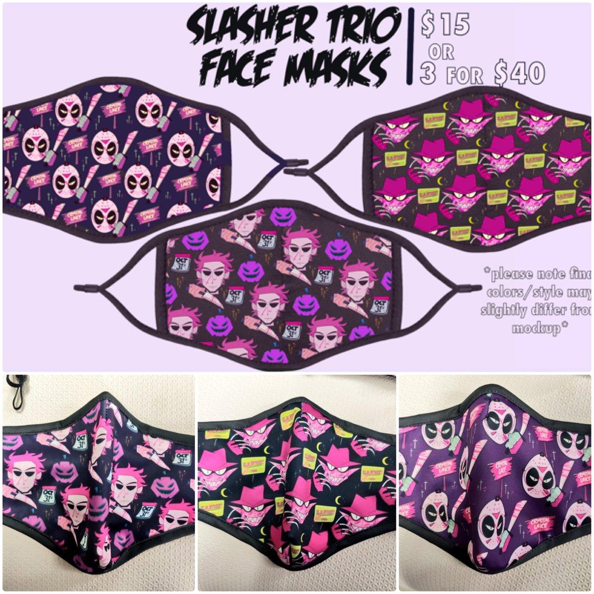 Image of SLASHER TRIO FACE MASK