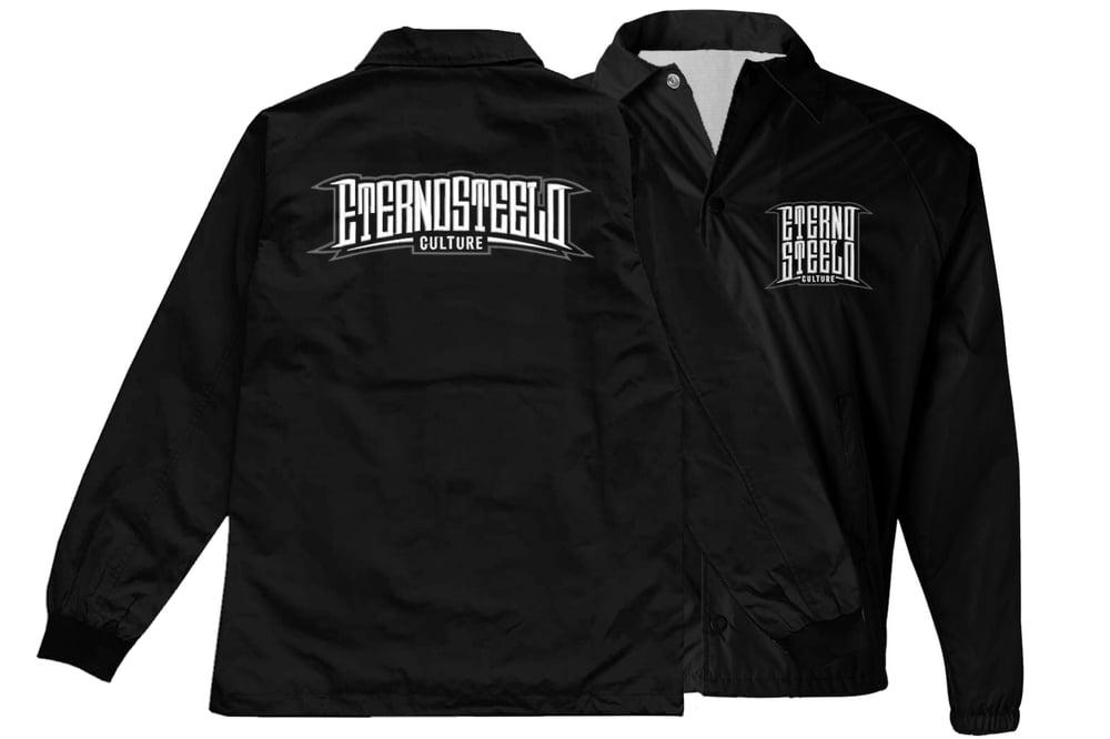 "Image of (Grey & white logo) ""Bossman"" Windbreaker Jacket"