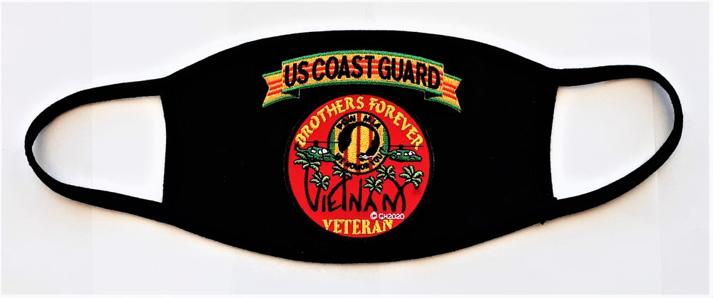 Image of Vietnam Veteran US Coast Guard Brothers Forever Face Mask