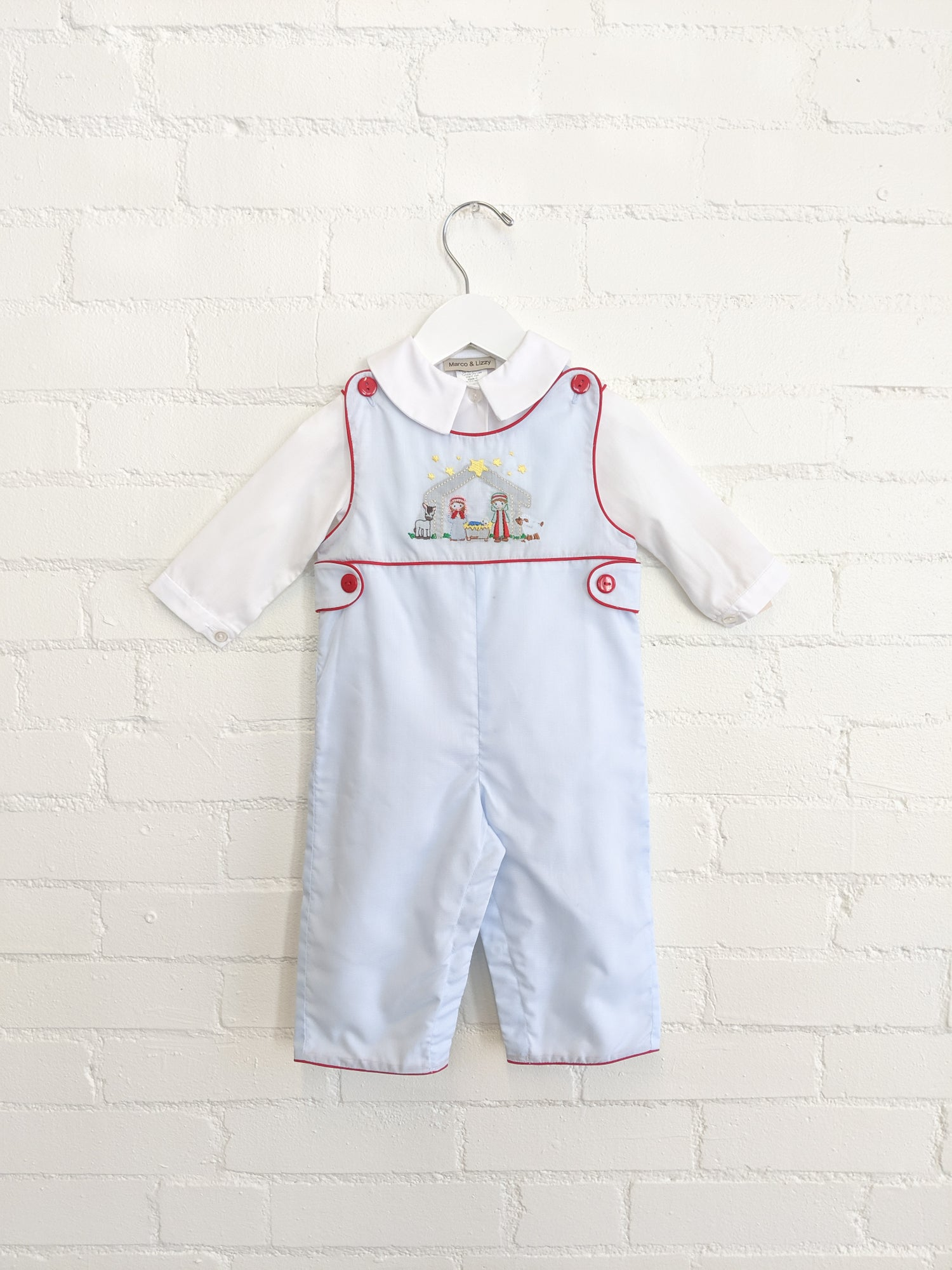 Image of Nativity Overall Set