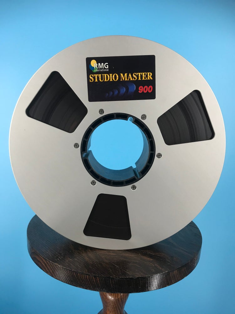"""Image of RMG 900 2"""" x 2500' Reel Tape On 10.5""""  in Box One Pass-Used"""