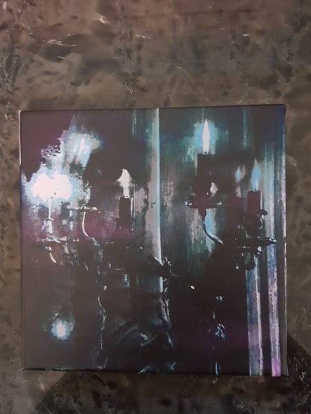 Image of Abstract Goth Canvas