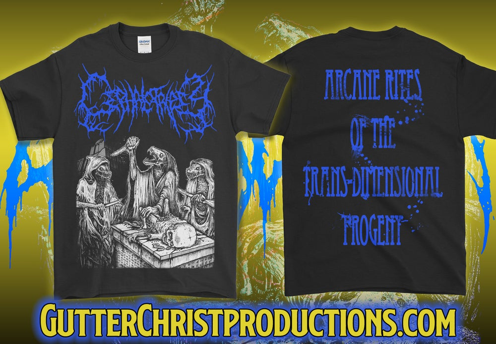 Image of CEPHALOTRIPSY T SHIRTS (PREORDER SHIPS DEC 5TH)