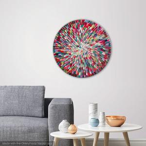 Image of Pacific orbis rainbow - 50x50cm