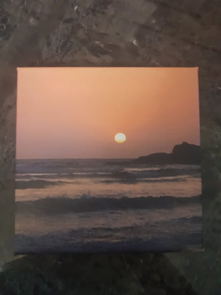 Image of An Indian Sunset Canvas