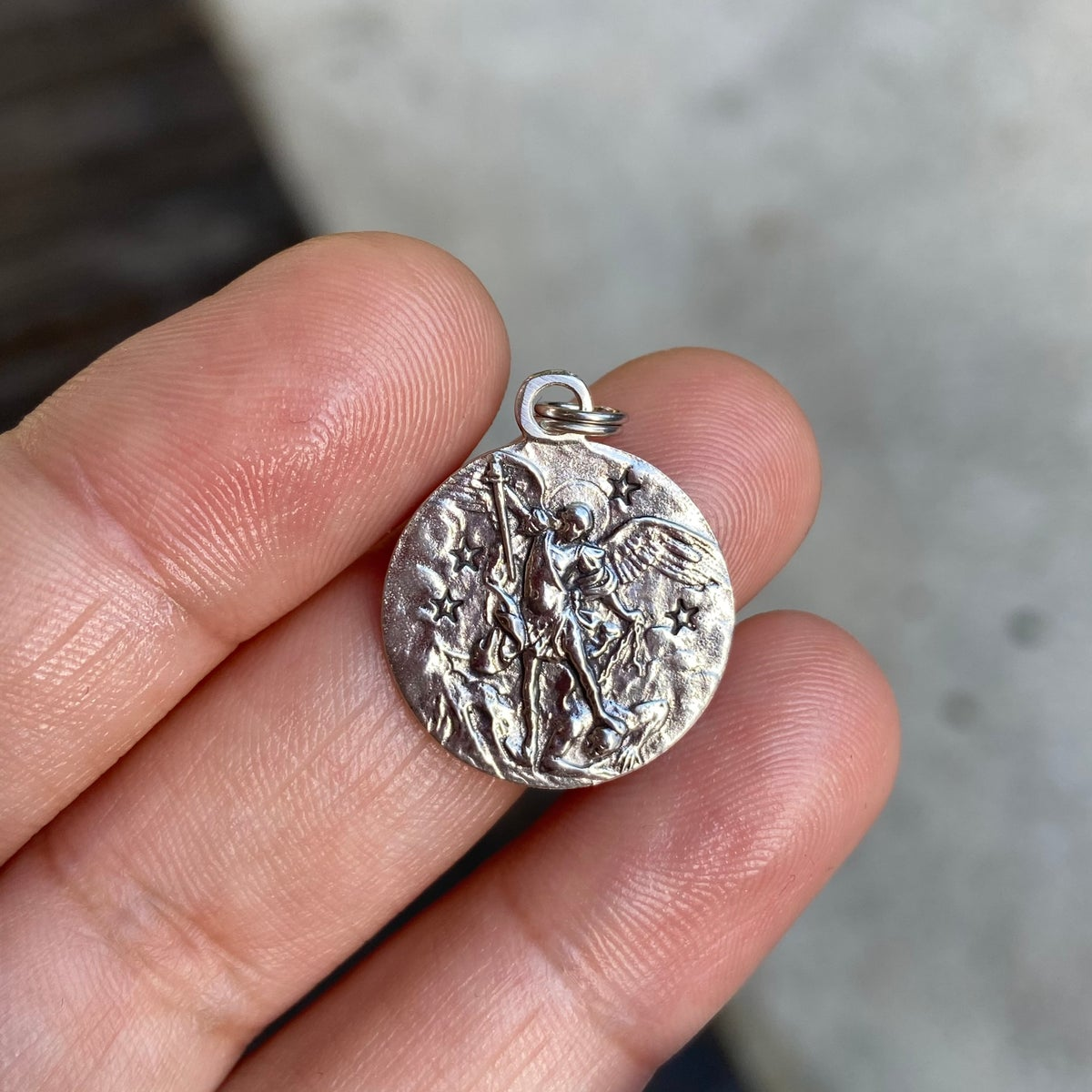 Image of san miguel charm