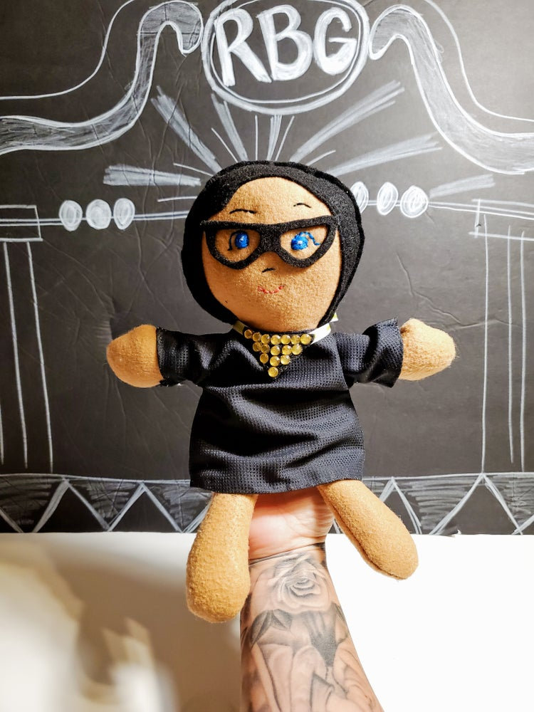Image of RBG Hand Puppet