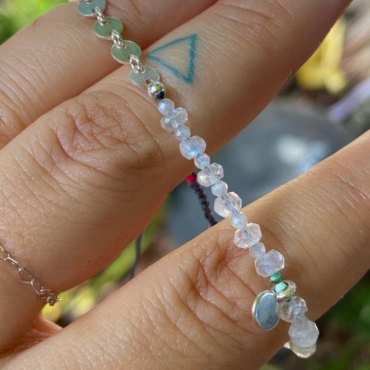 Image of moon stone bracelet
