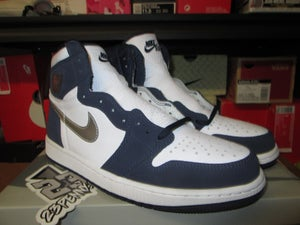 "Image of Air Jordan I (1) Retro High OG CoJP ""Midnight Navy"""