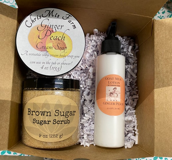 Image of Gingered Peach  gift set