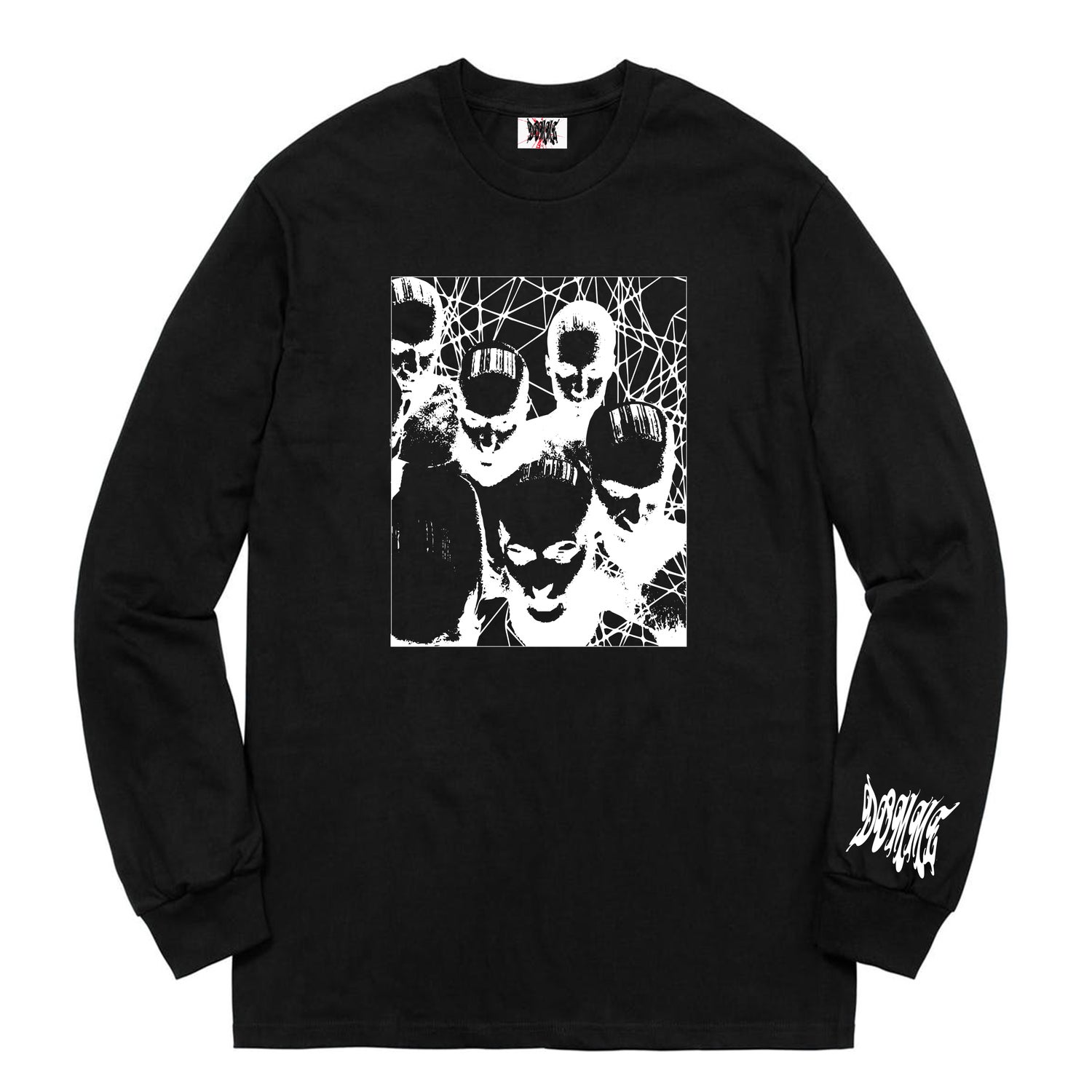 Image of Cry for help long sleeve  (puff print)