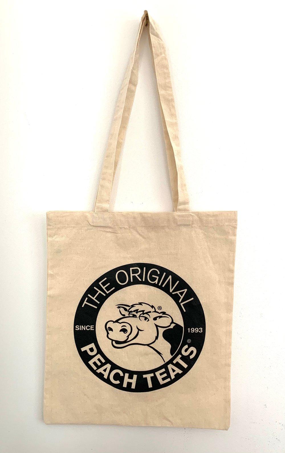 Image of Natural/Black Tote Bag