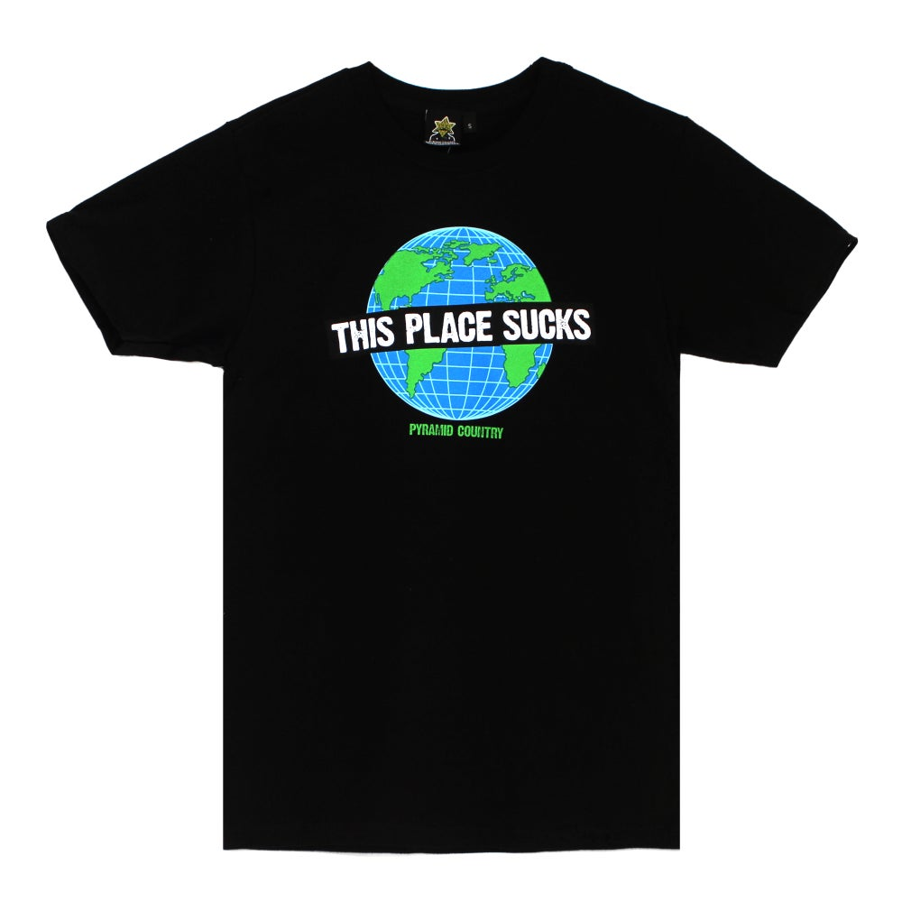 Image of This Place Sucks Tee (Black)
